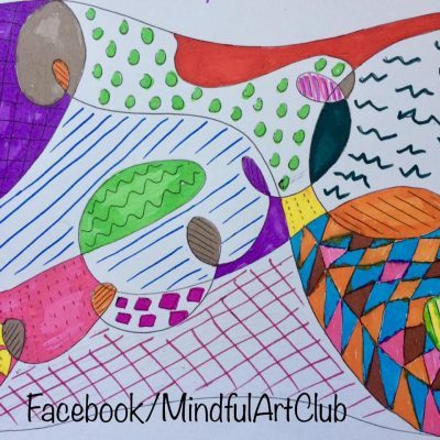 Mindful Drawing in 5 Minutes