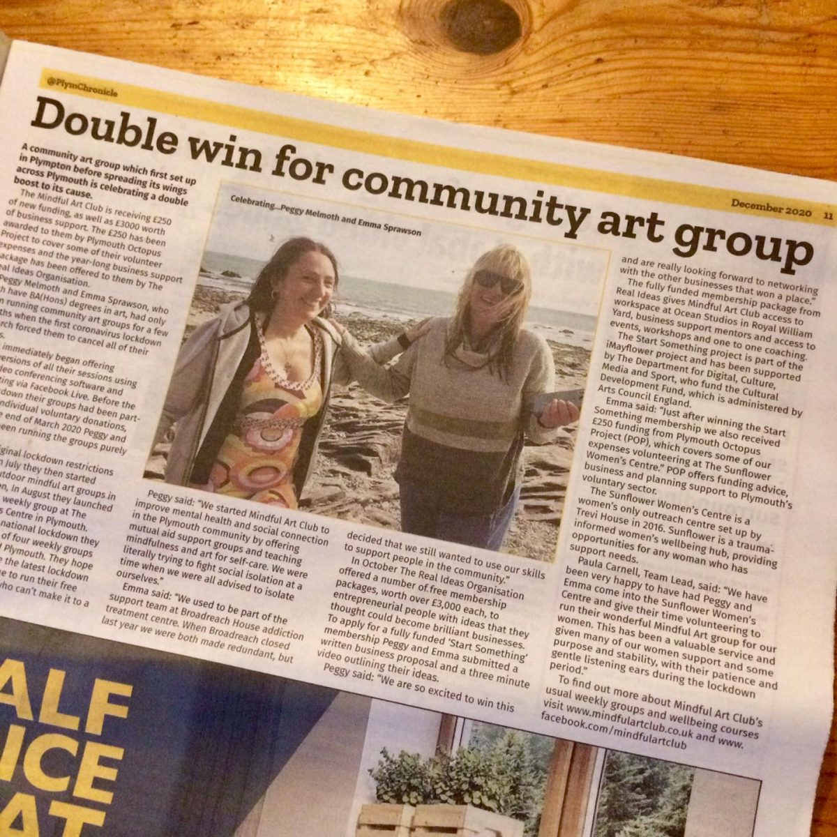 Double Win For Community Art Group