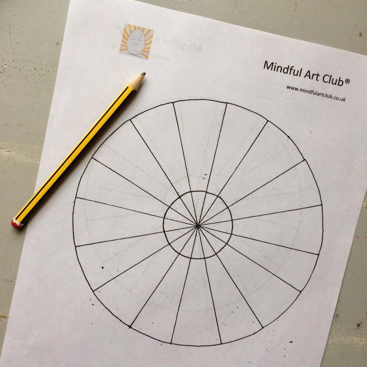 Free Printable Mandala Template